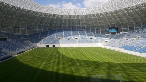 Superarena din Craiova intră în reparații, chiar după meciul de inaugurare