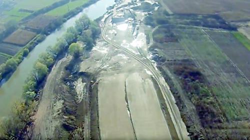 Lotul 2 al Autostrăzii Sebeş-Turda a intrat la apă