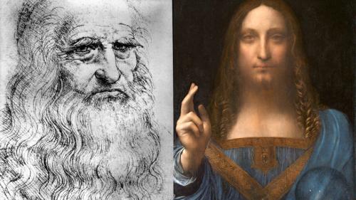 Tabloul lui Da Vinci, Salvator Mundi, vândut la licitație cu 450,3 milioane $