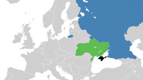 Rusia a început să ridice un gard între Ucraina și peninsula Crimeea