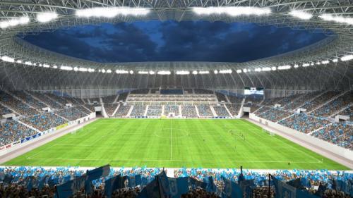 CS Universitatea Craiova - Juventus București 3-1, la primul meci oficial pe noul ''Oblemenco''