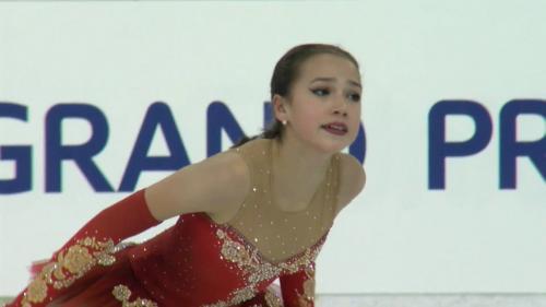 Patinaj artistic: Rusoaica Alina Zagitova s-a impus în proba individuală a Grand Prix-ului de la Grenoble Paris