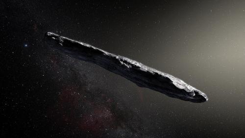 Obiect venit din afara sistemului solar, detectat de astronomi