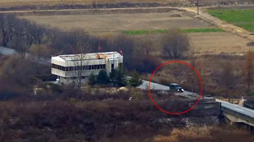 VIDEO - Imagini dramatice din timpul dezertării militarului nord-coreean