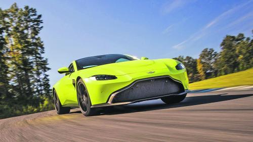 Puternicul Aston Martin