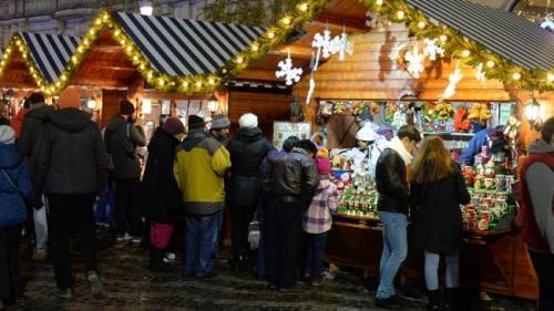 Târgul de Iarnă s-a deschis oficial în Deva