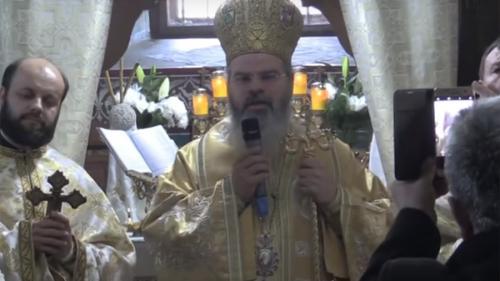 VIDEO - Episcopul Ignatie și-a fermecat credincioșii cu vocea sa. Reacția internauților