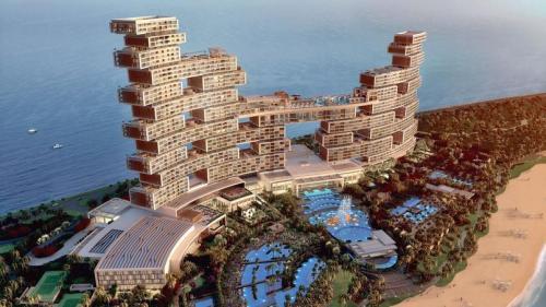 La Dubai, resedinte de lux pentru noii bogati ai lumii!
