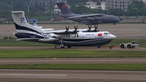 Cel mai mare avion amfibie, gata sa-si ia zborul!