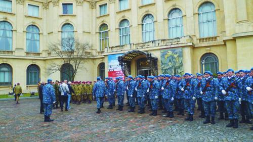 Repetiţii pentru funeraliile regale, la Bucureşti