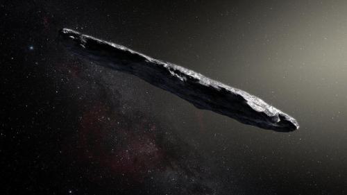 Stephen Hawking se teme de asteroidul Umuamua
