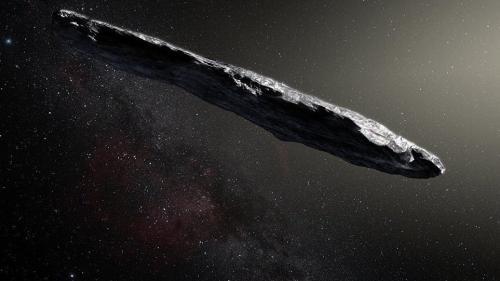 VIDEO - Primul asteroid venit din afara galaxiei, a stârnit speculații din cauza formei sale stranii