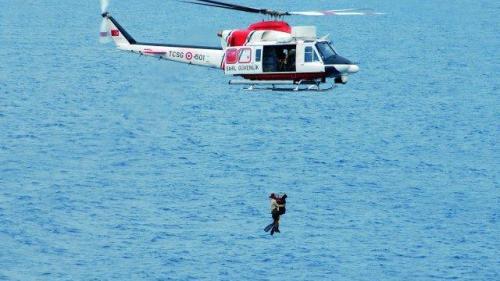 Paza de coastă din Turcia, operaţiune dramatică de salvare