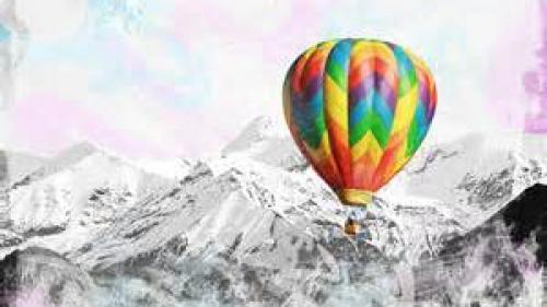 Un bilet cu o dorinţă de Crăciun a călătorit 400 km cu un balon