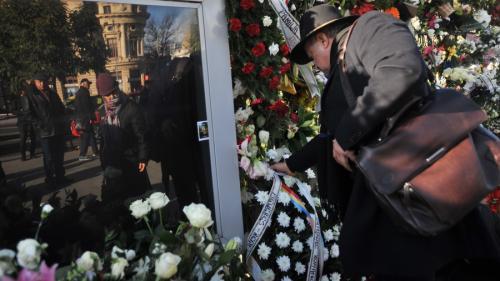 Principesa Margareta și Principele Radu au vizitat zona în care românii au depus flori şi lumânări
