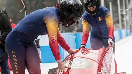 Sportivii români au obţinut un argint şi un bronz în Cupa Europei la bob şi un bronz în Cupa Naţiunilor la sanie