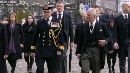 Prinţul Charles al Marii Britanii, prezent la funeraliile regelui Mihai