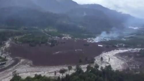 Alertă în Chile! 5 morţi şi 15 dispăruţi după o uriaşă alunecare de teren provocată de ploile torenţiale
