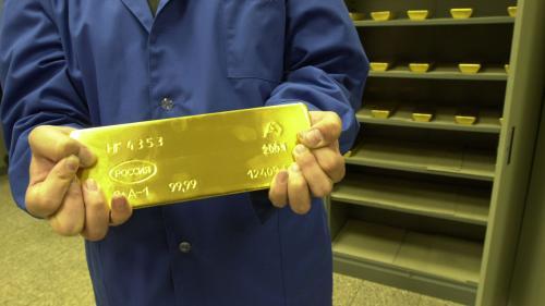 Cum isi stocheaza rusii aurul! Foto
