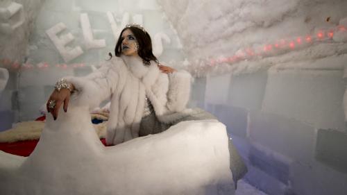 Hotelul de Gheață inspiră lumea modei