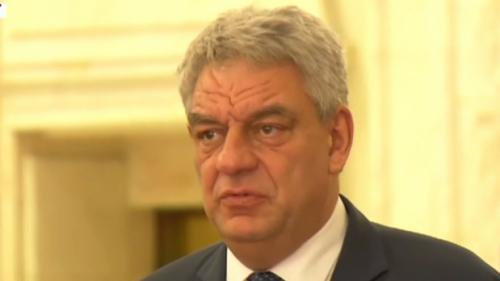 Mihai Tudose şi-a anunţat demisia din funcţia de prim-ministru: Plec cu fruntea sus