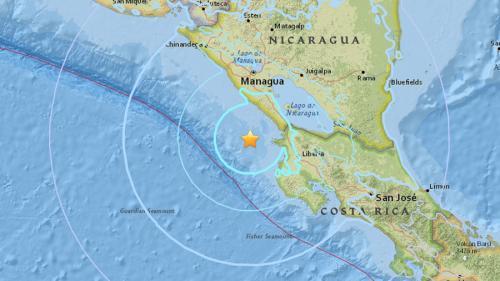 Cutremur puternic în Nicaragua