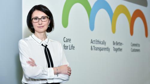 Aurelia Luca, noul Managing Director al Skanska Property România