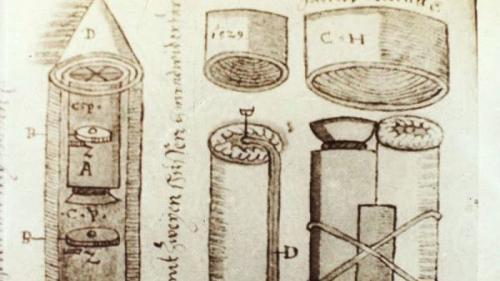 Incredibil! Un manuscris sibian din 1570 dezvăluie cum se construiesc rachete spaţiale