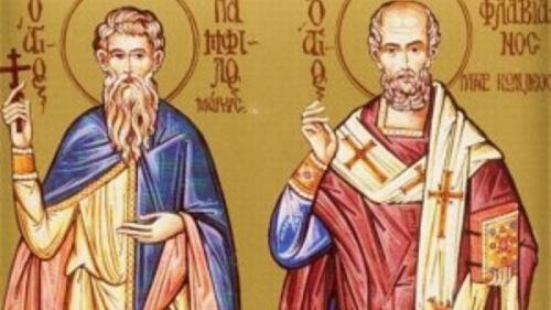Calendar religios - 16 februarie. Sfinții Mucenici Pamfil și Valent