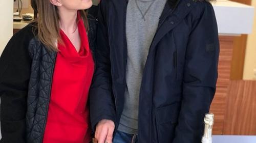 """Vlad Gherman, surpriză emoţionantã pe platourile de filmare de la """"Fructul oprit"""""""