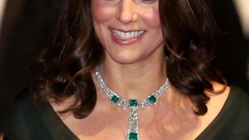 Ducesa de Cambridge a sfidat mişcarea Time's Up venind într-o rochie verde la premiile Bafta