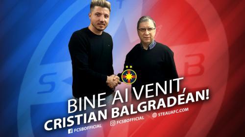 OFICIAL. Cristian Balgradean a semnat cu FCSB
