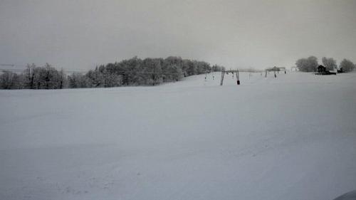 IMAGINI LIVE - Ger polar în Banat; -41 de grade în Semenic