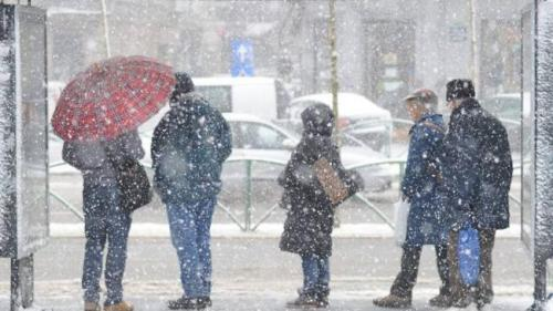 Avertizare ANM: Temperaturi de până la minus 18 grade în Capitală, vânt şi ninsoare, în următoarele zile
