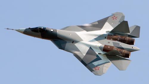 Avioane Su-57, din generația a cincea, la teste reale în Siria