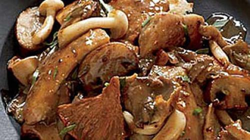 Rețetă de pui cu ciuperci de pădure