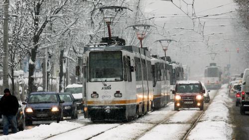 Traseul tramvaiului 41 va fi deviat timp de 16 luni