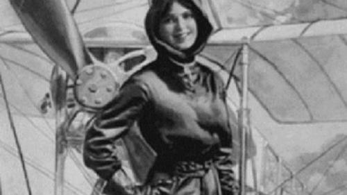 """A fost prima româncă pilot de avion și primul corespondent de război care scria """"reportaje din avion"""". Află cine este această femeie extraordinară"""