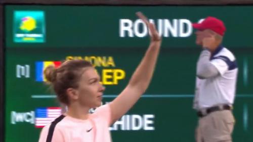 Reacție neașteptată a Simonei Halep după înfrângerea umilitoare din semifinalele Indian Wells