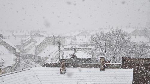 Atenționare de călătorie în Ungaria - cod roșu de ninsori și viscol