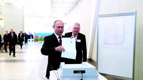 Alegeri cu final așteptat, la Kremlin