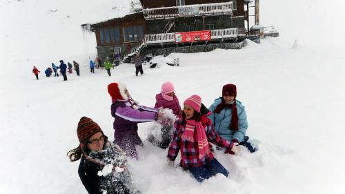 Stratul de zăpadă de la Bâlea Lac a ajuns la 2 metri