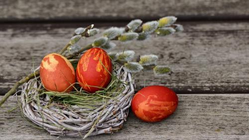 Rețete de Paște. Cum vopsim ouăle natural