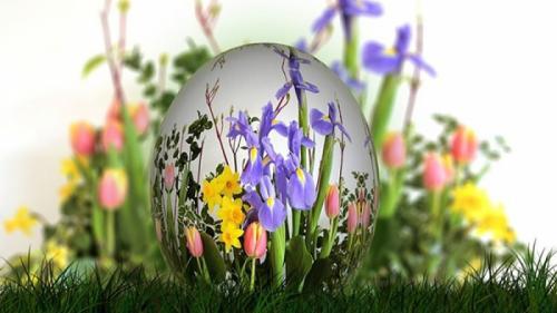 Idei de aranjamente florale de Paşte