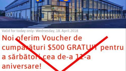 Lidl și Carrefour avertizează clienții în legătură cu o înșelătorie care se face în numele lor