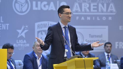 Burleanu, reales şef FRF: I-am ciuruit