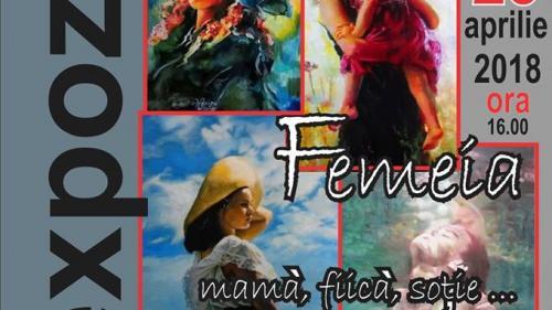 Viziunea pictorului Valentin Ionescu, într-o expoziție inedită - Femeia: mamă, fiică, soție