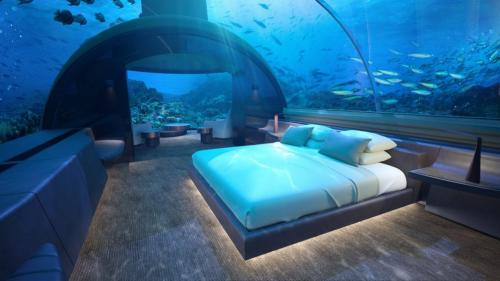 FOTO Cum arata prima resedinta subacvatica din lume!