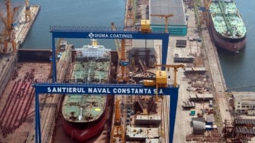 Şantierul Naval Constanţa, partener strategic cu concernul Naval Group pentru construirea corvetelor multirol româneşti