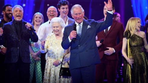 Sting, Tom Jones şi Kylie Minogue au încântat publicul la un concert dedicat aniversării reginei Elisabeta a II-a